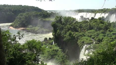 Iguazu-Falls-Argentina-cliff-falls-and-river-view