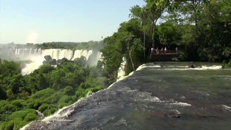 Iguazu-Falls-Argentina-river-plunges-over-edge