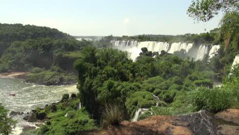 Iguazu-Falls-Argentina-trickle-of-water-in-foreground