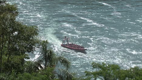 Iguazu-Argentina-boat-in-river