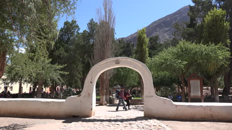 Argentina-Purmamarca-arch-entry-to-plaza