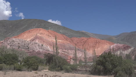 Argentina-seven-colored-hill-distant-pan