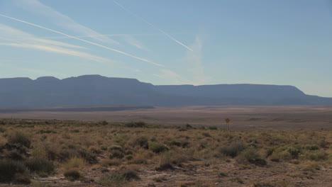 Reserva-Navajo-De-Arizona-Jet-Estelas-De-Vapor