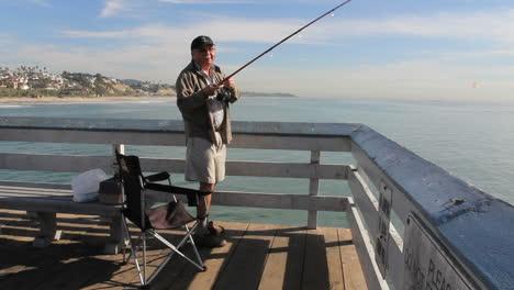 California-San-Clemente-man-fishing-from-pier