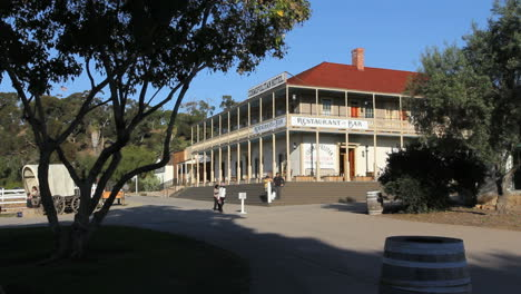 California-San-Diego-Old-Town-hotel-with-tree