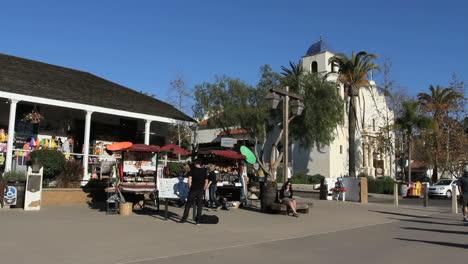 California-San-Diego-Old-Town-scene