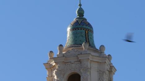 Cúpula-De-La-Torre-De-La-Basílica-De-Dolores-De-La-Misión-De-San-Francisco-California