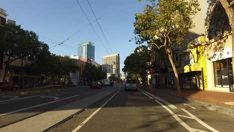 San-Francisco-California-going-down-a-street