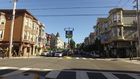 San-Francisco-California-leaving-intersection