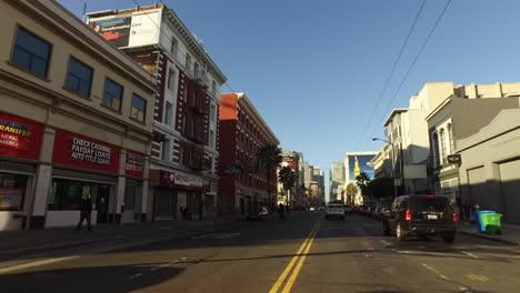 San-Francisco-California-Pasando-Edificios-Comerciales