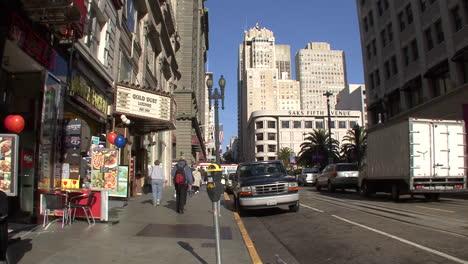 San-Francisco-California-La-Gente-En-La-Acera