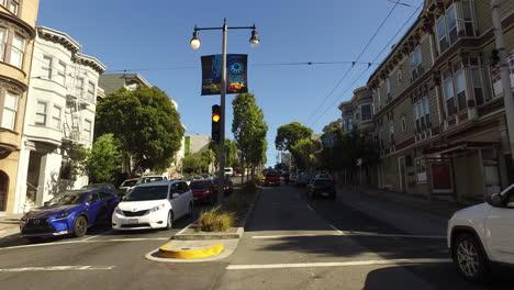 San-Francisco-California-stop-and-go-traffic