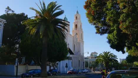 San-Francisco-California-Street-Torre-De-La-Iglesia-De-La-Misión