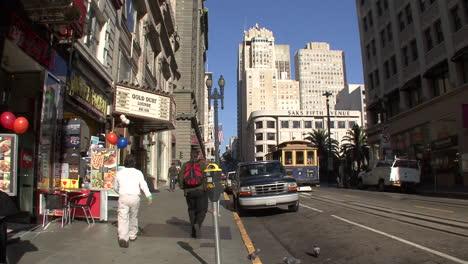 San-Francisco-California-Street-Con-Vista-Al-Teleférico
