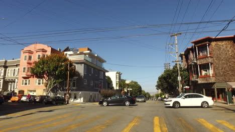 San-Francisco-California-streets-and-motor-bikes