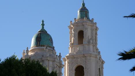 San-Francisco-California-Tower-Y-La-Cúpula-De-La-Misión-Dolores-Basílica