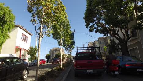 San-Francisco-California-Tráfico-Con-Bus