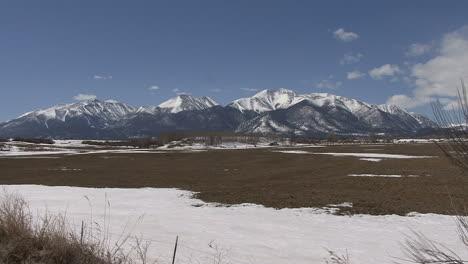 Colorado-Sawatch-Range-Jenseits-Des-Schnees-Im-Tal