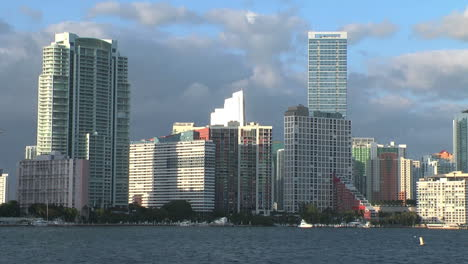 Florida-Miami-skyline-view-with-tall-buildings