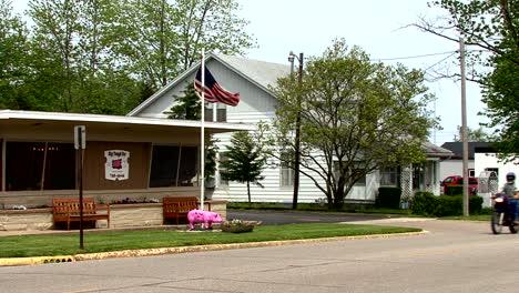 Illinois-Moweaqua-post-office-with-pink-pig