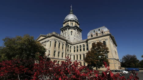 Illinois-capitol-Springfield-back-view