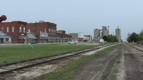Illinois-small-town-by-railroad-tracks