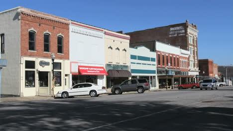 Neosho-Missouri-Innenstadt