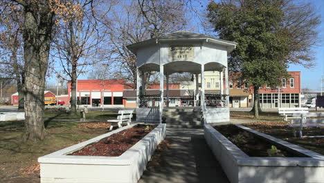 Sarcoxie-Missouri-bandstand