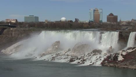 Nueva-York-Niágara-Cataratas-Vista-De-American-Falls