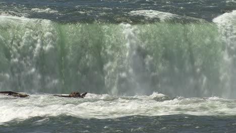 Nueva-York-Cataratas-Del-Niágara-Sumergiendo-Agua