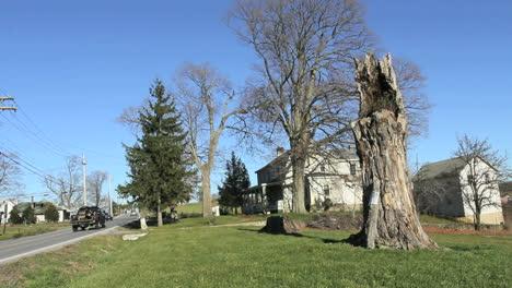 Pine-Island-Nueva-York-Road-By-House