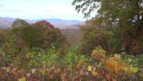 Montañas-Humeantes-De-Carolina-Del-Norte-Thomas-Divide-Pan
