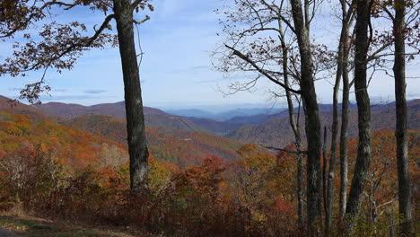 North-Carolina-zooms-on-distant-mountain-ridges