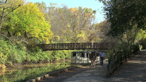 Ohio-Miami-and-Erie-Canal-with-bridge-and-boat
