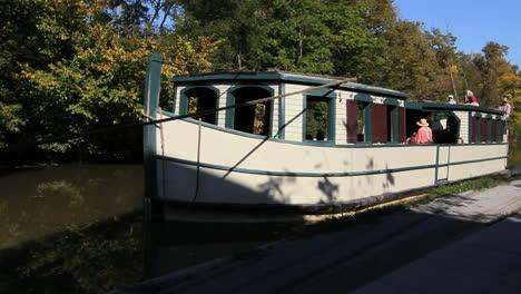 Ohio-Barge-Auf-Miami-Und-Erie-Canal