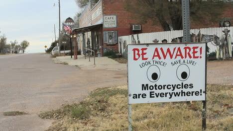 Oklahoma-Be-Aware-sign