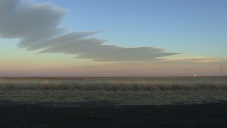 Oklahoma-car-in-late-evening