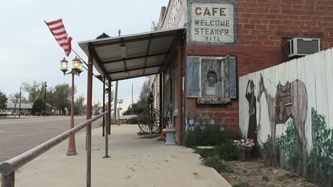 Oklahoma-small-town-café