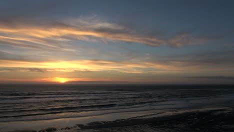Oregon-Coast-pretty-sunset