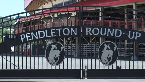 Oregon-Pendleton-roundup-gate-close-view