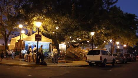 Puerto-Rico-San-Juan-Plaza-At-Night-mov