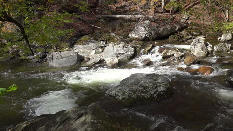 Tennessee-Smoky-Mountains-rapidly-flowing-stream-over-rocks