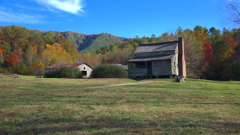 Tennessee-Smoky-Mountains-traditional-cabin