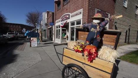 Bennington-Vermont-fall-street