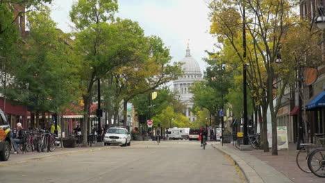 Wisconsin-Madison-State-Street-Con-Bicicletas