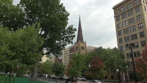 Campanario-De-La-Iglesia-De-Madison-De-Wisconsin