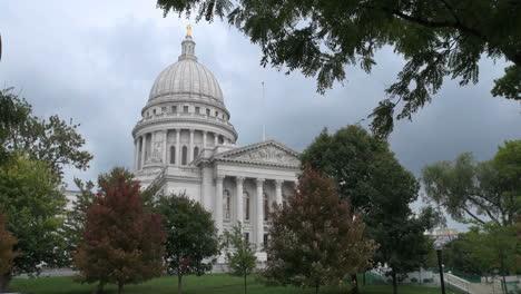 Vista-De-La-Casa-Estatal-De-Wisconsin-Madison