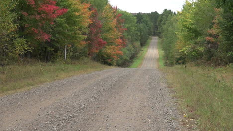 Wisconsin-road-through-fall-woods