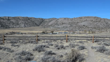 Wyoming-Devil-s-Gate-area-with-fence