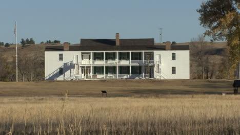 Wyoming-Fort-Laramie-Edificio-Blanco